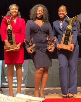 Miramar HS: Daliss Hicks POI Champion. Sophia Williams - DI Champion